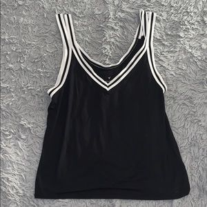 Slightly cropped tank top